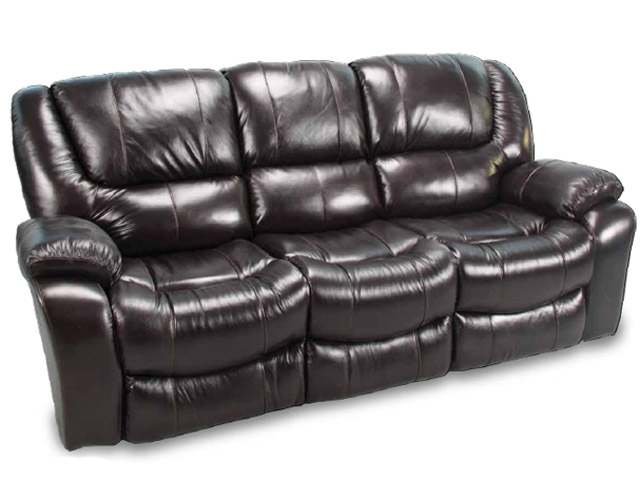 Hercules Blackberry Leather Dual Reclining Sofa by Parker House -  MHER-832-BL
