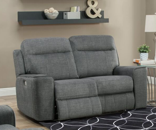 Miraculous Parthenon Dual Power Reclining Loveseat With Power Headrest And Usb Port In Titanium Fabric By Parker House Mpar 822Ph Tit Forskolin Free Trial Chair Design Images Forskolin Free Trialorg