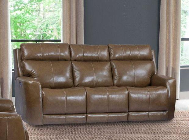 Perkins Power Reclining Sofa With Power Headrest Power Lumbar