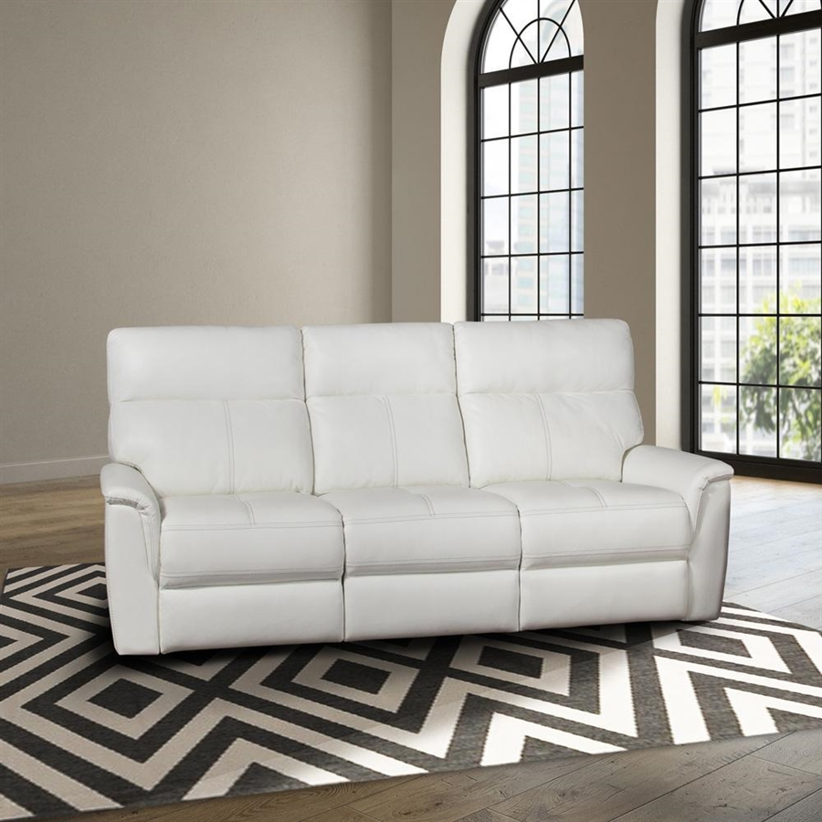 Reed Reclining Sofa With