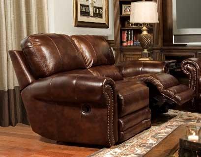 chocolate reclining loveseat amazon aruba furniture roundhill recliner microfiber com dual dp