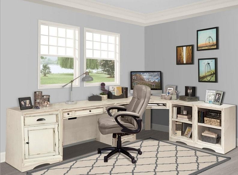 decorate desk charming corner vintage wood