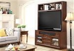 Napa 63-Inch TV Console Entertainment Center in Bourbon Finish by Parker House - NAP-905