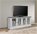Provence 84 Inch TV Console in Vintage Alabaster Finish by Parker House - PRO#84