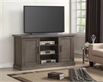 Scottsdale 63 Inch TV Console in Vintage Weathered Pewter Finish by Parker House - SCO-63