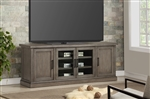 Scottsdale 76 Inch TV Console in Vintage Weathered Pewter Finish by Parker House - SCO-76