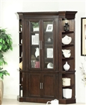 Stanford 3 Piece Bookcase in Light Vintage Sherry Finish by Parker House - STA-425-3