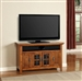 Terrace 50-Inch TV Console in Antique Vintage Smoked Ash Finish by Parker House - TER-50