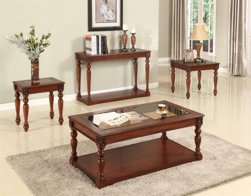 Athens 48 inch tv console sofa table in antique light for 48 inch sofa table