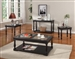 Avelino Occasional Tables in Vintage Burnished Black Finish by Parker House - TPAV-00