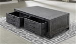 Veracruz Occasional Tables in Rustic Charcoal Finish by Parker House - VER#01