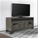 Veracruz 76 Inch TV Console in Rustic Charcoal Finish by Parker House - VER#76
