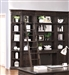 Washington Heights 6 Piece Library Wall in Washed Charcoal Finish by Parker House - WAS-420-6