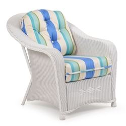 Hampton Outdoor Lounge Chair by Palm Springs Rattan - 8175
