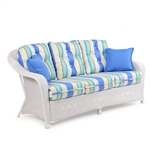 Hampton Outdoor Sofa by Palm Springs Rattan - 8375