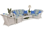 Hampton 2 Piece Outdoor Sofa Set by Palm Springs Rattan - 8375-S