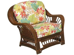 Bali Outdoor Lounge Chair by Palm Springs Rattan - P4401