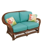 Bali Outdoor Loveseat by Palm Springs Rattan - P4402