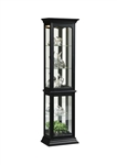 PFC Curio Black Finish Display Cabinets by Pulaski - PUL-21414