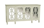 PFC Accents Console Table with White Florence Finish by Pulaski - PUL-730064