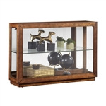 PFC Side Entry Console Curio Display Cabinet by Pulaski - PUL-P021657