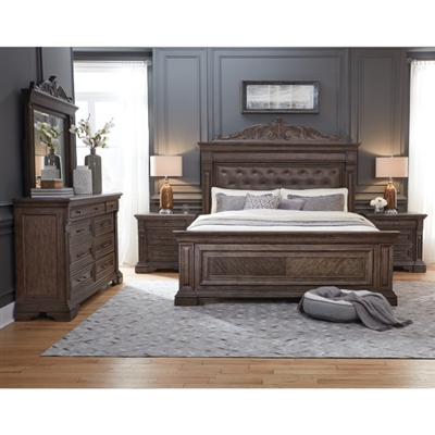 Bedford Heights 6 Piece Bedroom Set by Pulaski - PUL-P142170