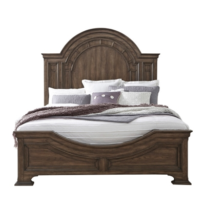 Glendale Estates Bed in Two Tone Finish by Pulaski - PUL-P166190-B