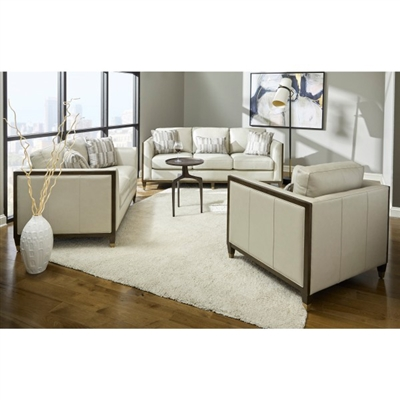 Addison Love Seat in Ivory by Pulaski - PUL-P907-681-1728
