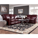 Grant 2 Piece Motion Sofa Set in Burgundy by Pulaski - PUL-P916