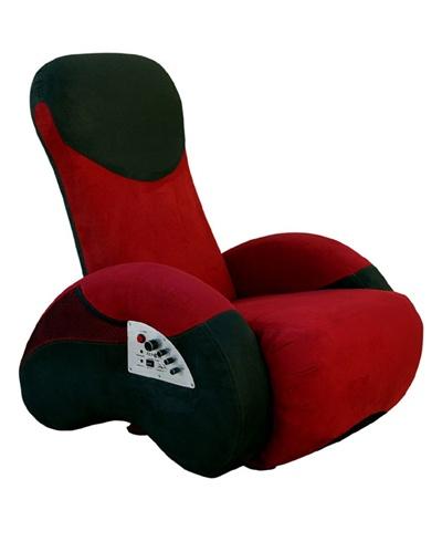 Excellent Repose E1000 Sub Sonic Surround Sound Media Chair In Red Black Lamtechconsult Wood Chair Design Ideas Lamtechconsultcom