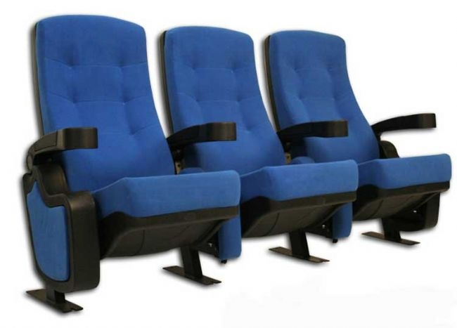 First Class 3 Red Black Or Blue Movie Theater Chairs By Seatcraft Bs831