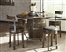 Homestead 5 Piece Pub Table Dining Room Set in Tobacco Leaf Finish by Sunny Designs - SD-1038TL2