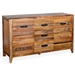 Havana Server in Rustic Acacia Finish by Sunny Designs - SD-1904RA