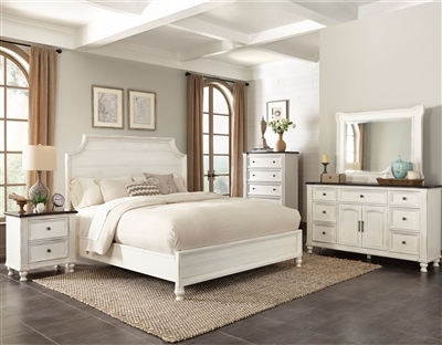 Carriage House 6 Piece Bedroom Set in European Cottage Finish by Sunny Designs - SD-2320EC