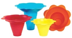 Flower Sno-cone Drip Trays - 8 oz